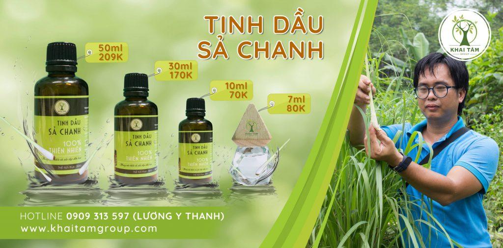 Tinh dầu sả chanh Khai Tâm 01