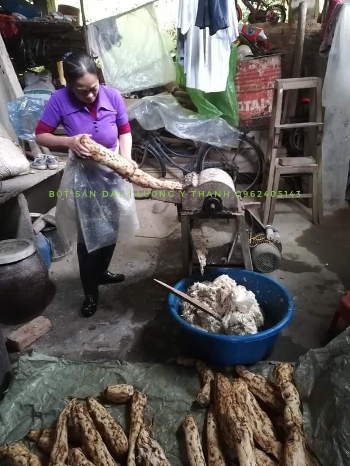 bột sắn dây 2